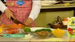 Рецепт супа из семги от Далиды Наукеновой