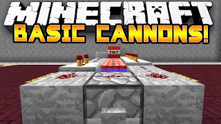 Minecraft: Factions Tips & Tricks  - Basic TNT Cannons - 1