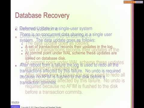 IT344 - Chapter 23 - Database recovery techniques - By Hala Ayash