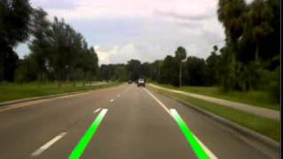 INVISION AUTOMOTIVE - Lane Departure Warning System with DVR