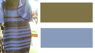 Платье Черно-Синее или Бело-Золотое / Blue & Black or White & Gold?