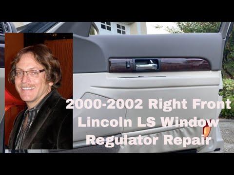 Lincoln LS Window Regulator Repair 2000-2002