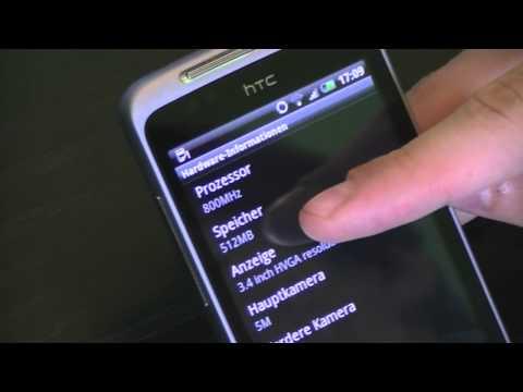 HTC Salsa - Das Facebook Handy im Hands-ON [HD/German]