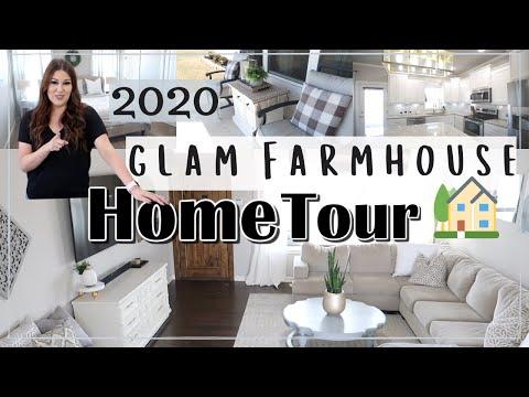 SPRING HOME TOUR 2020   RUSTIC GLAM HOME TOUR   Til Vacuum Do Us Part