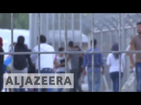 Greek refugee camps suffer from surge in migration
