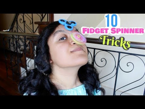10 Super Easy Fidget Spinner Tricks Anyone Can Do!