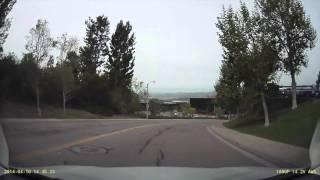 2014.04.10 laguna hills dmv driving test 加州駕考實況
