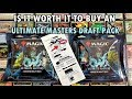 Is it Worth it to Buy Ultimate Masters 3-Booster Draft Pack? Walmart MTG