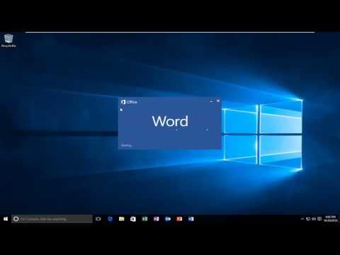 Windows 10 - How To Print To PDF | Save Files As PDF Extension
