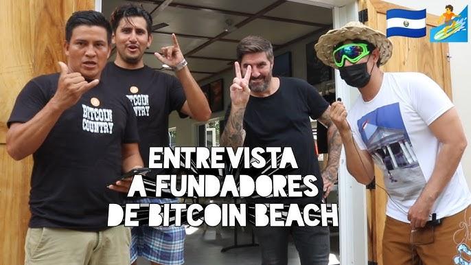 Entrevista fundadores Bitcoin Beach Jorge Valenzuela, Román Martínez y Peter McCormack en Bitcoinday - YouTube