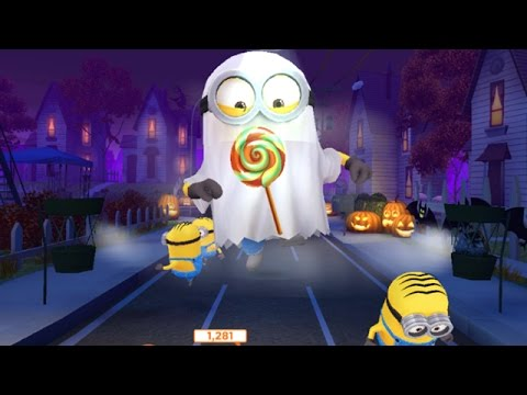 Despicable Me 2 Minion Rush Halloween Trick or Treat Special mission