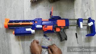Blaze Storm Soft Bullet Automatic Multi Shot Toy Gun for kids I Automatic Toy Gun for Kids