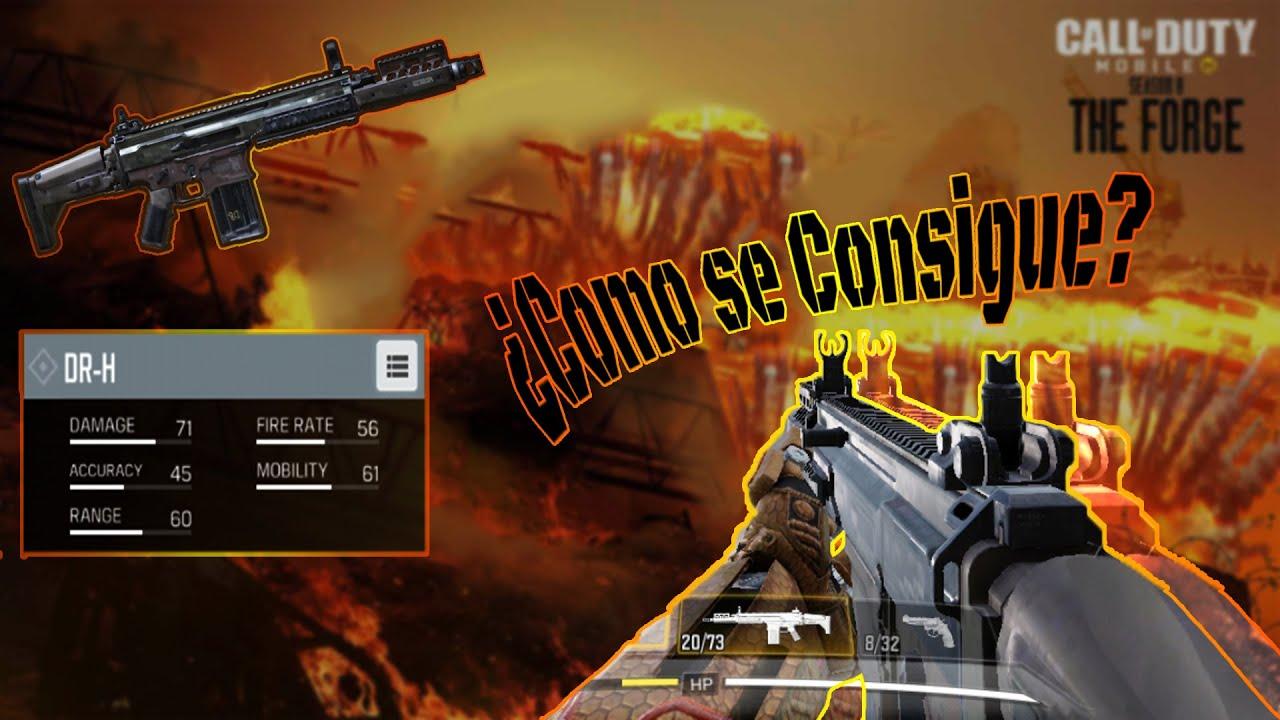 Conseguir Rapido La Nueva Dr H Scar H Call Of Duty Mobile Temporada 8 Youtube