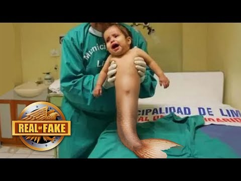 BABY BORN WITH MERMAID TAIL - real or fake?
