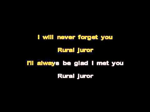 Rural Juror Karaoke