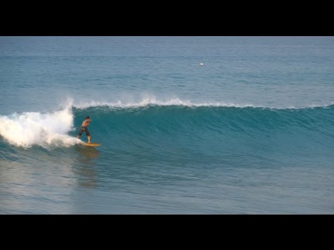 Sunrise Surfing South Shore Spring Swell Part 1