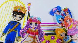 Sticker nhà tạo mẫu Công chúa và hạt đậu siêu hài hước, vui nhộn/Vẽ giường công chúa