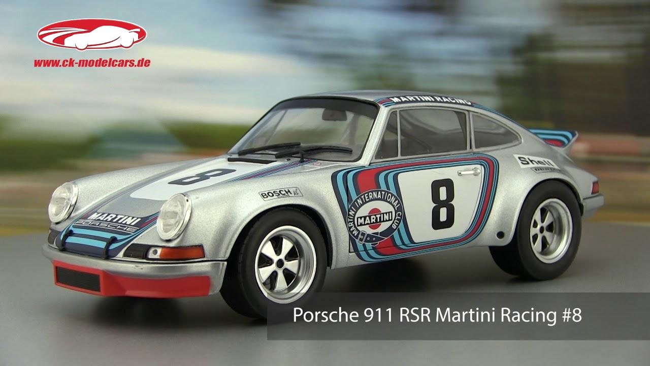 ck modelcars video porsche 911 rsr martini racing 8. Black Bedroom Furniture Sets. Home Design Ideas