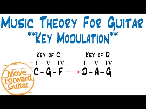 Music Theory for Guitar - Key Modulation