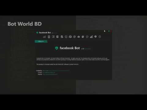 Facebook Bot v.10 Emerald