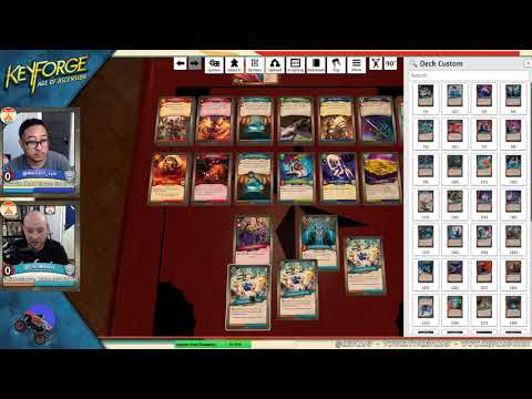 How To Play Keyforge: Age Of Ascension On Tabletop Simulator - Crit Camp