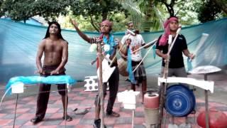 goro ghor banaila ki dia funy video song by dj pagla music band