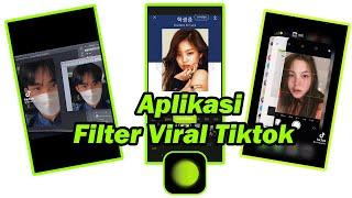 Aplikasi Filter Foto Viral di Tiktok!!!