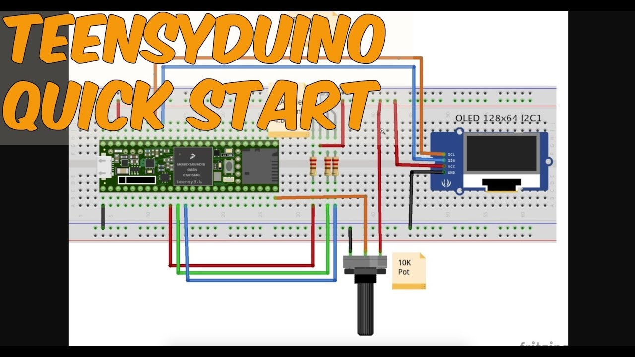 Getting Started with Teensy in the Arduino IDE on