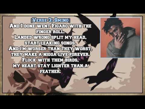Noname - Shadow Man (feat. Phoelix, Saba and Smino) [Lyric Video]