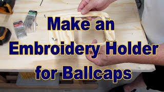 How to Embroider a Baseball Cap