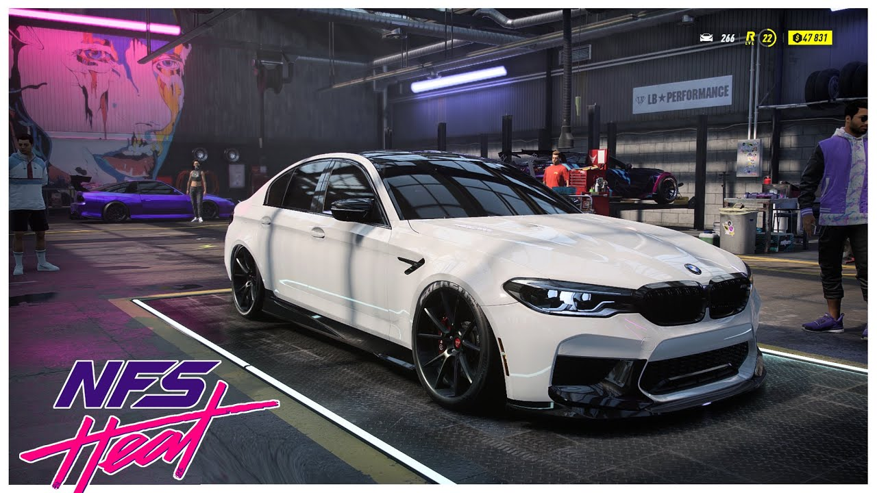 Need For Speed Heat - BMW M5 Customization/Tuning! NFS HEAT DELUXE EDITION ULTRA SETTINGS GAMEPLAY!