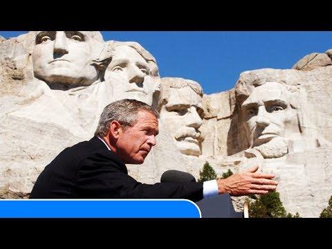 25 RARE and INTERESTING Photos of President George W Bush Junior