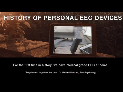 History of Personal EEG Devices (Neurosky, Muse, Emotiv)