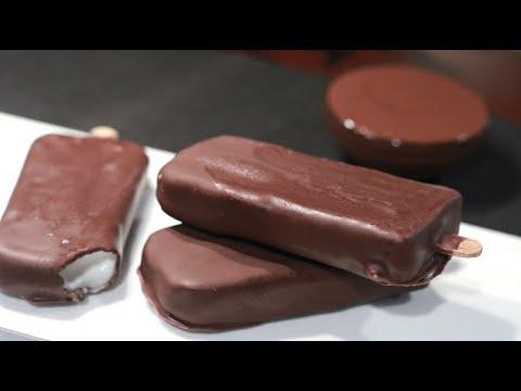 Choco Bar Ice Cream Recipe II Without Ice Cream Maker
