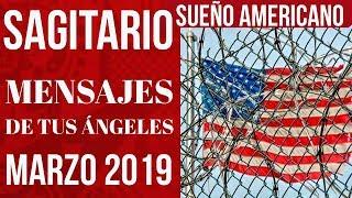 SAGITARIO Cambio de Ciudad, Estabilidad, Sueño Americano y Television Marzo 2019 Mensaje Angeles