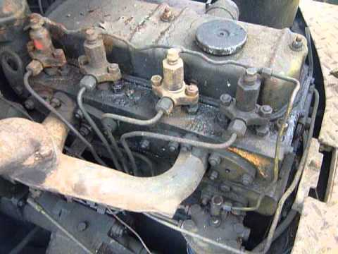 Perkins 4 203 Diesel 4 Cylinder Engine Youtube