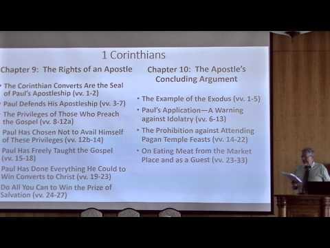"Craig L. Blomberg, Denver Seminary, ""A Celestial Commentary on 1 Corinthians"""