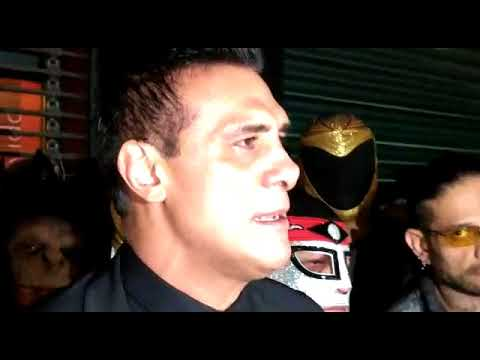 Alberto el Patrón habla furioso tras la cancelación de la función a beneficio de damnificados