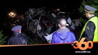 Le360.ma • ضحايا انقلاب حافلة بتازة يروون تفاصيل الفاجعة ❘ Accident de Taza.
