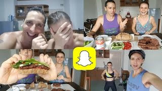 Snapchat Story Vlog | Doodle & Nipples... what did Luca do??!!!