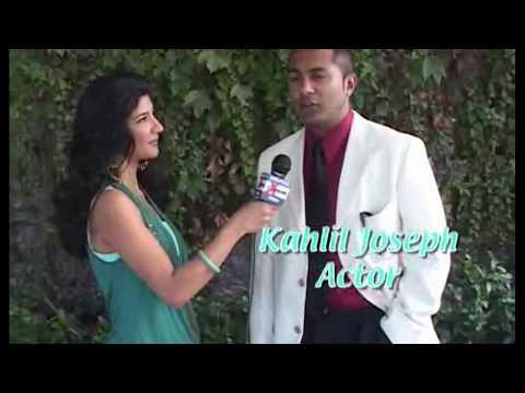 Kahlil Joseph the actor gets interviewed for Showbiz India Xtreme Celebrity