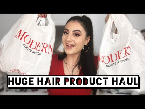 HUGE MODERN BEAUTY SUPPLY HAUL | Hair Product Haul | Professional Hair Products