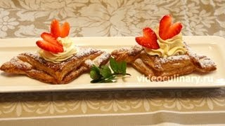Пирожные Валентинки - Рецепт Бабушки Эммы