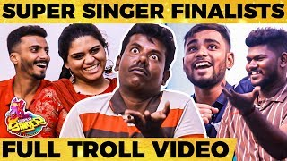 Mookuthi Murugan Gets Ultimately Trolled By Super Singer Finalists | Vijay Tv