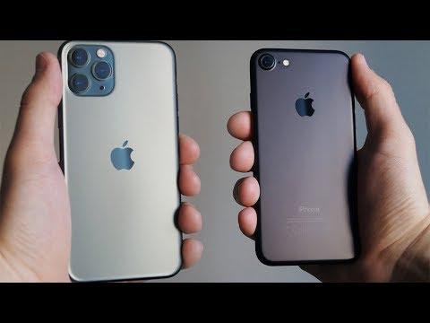 Перешел с IPhone 7 на IPhone 11 Pro – ЗРЯ? Айфон 7 VS Айфон 11 про