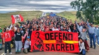 Dakota Access Pipeline - Native Americans Protest DAPL, From YouTubeVideos