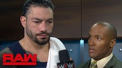 Roman Reigns promises retribution at WWE Stomping Grounds: Raw, June 10, 2019