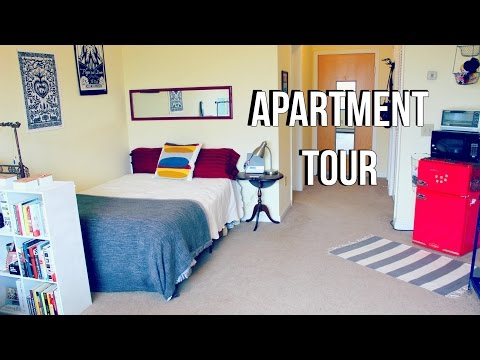 5 TIPS ∆ LIVING IN A STUDIO APARTMENT!