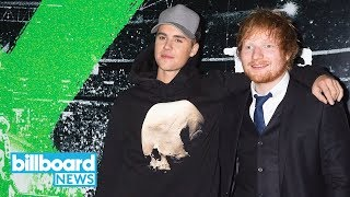 Ed Sheeran, Justin Bieber Giving the People What They Want: New Song 'I Don't Care' | Billboard News