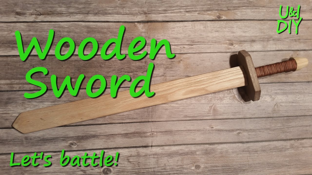 Wooden Sword Plans Free